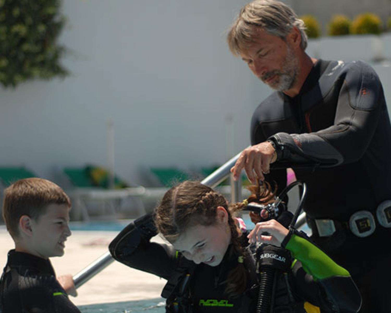 montenegro scuba diving instructor