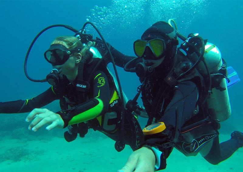 Montenegro discover scuba diving