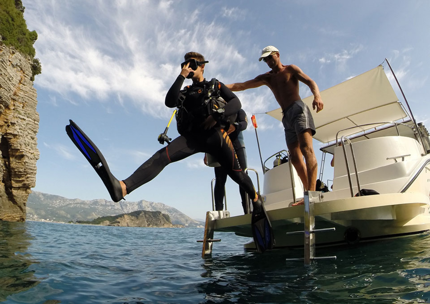 Montenegro PADI Open Water Diver Course