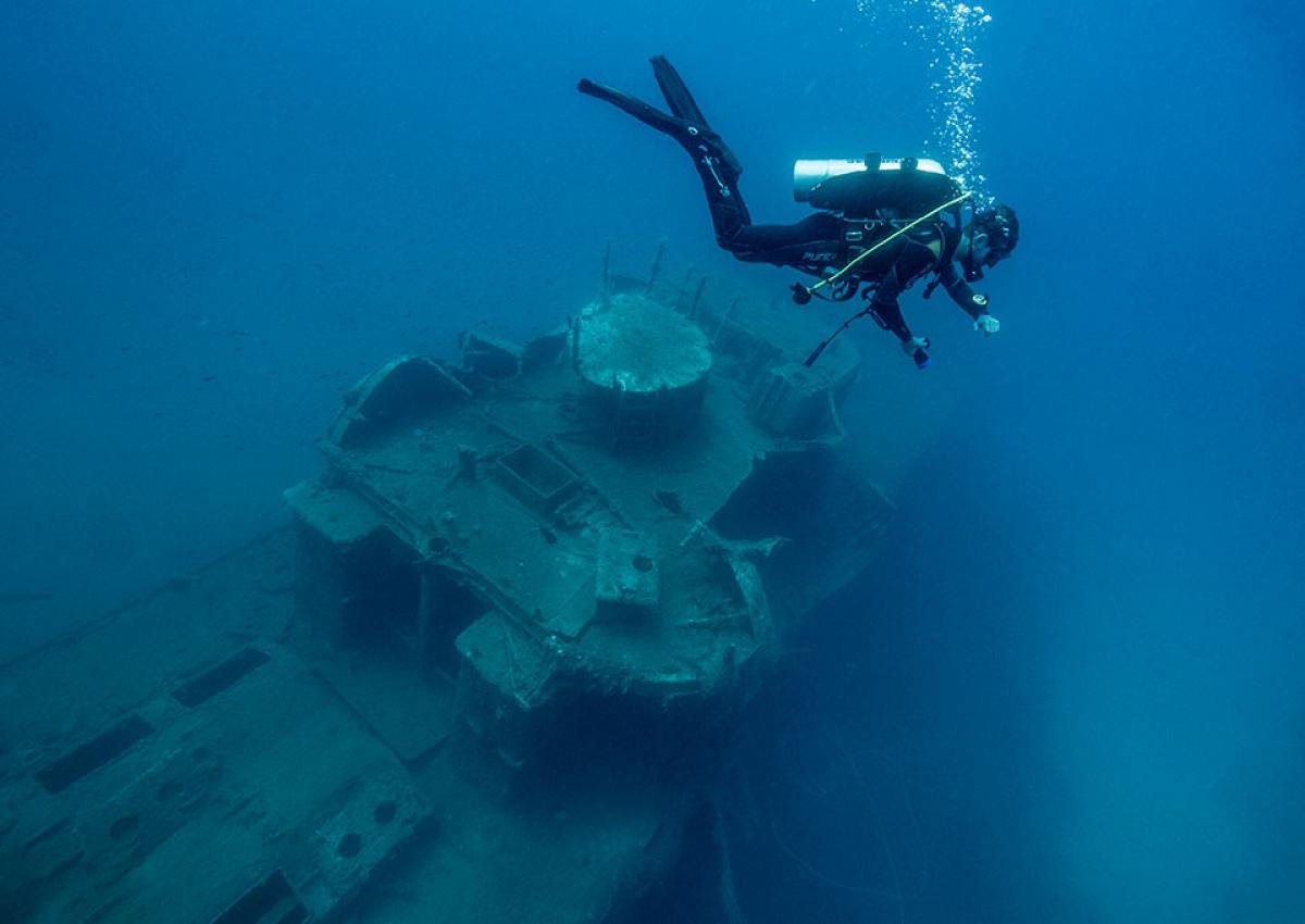 Shipwreck Patrol Boat